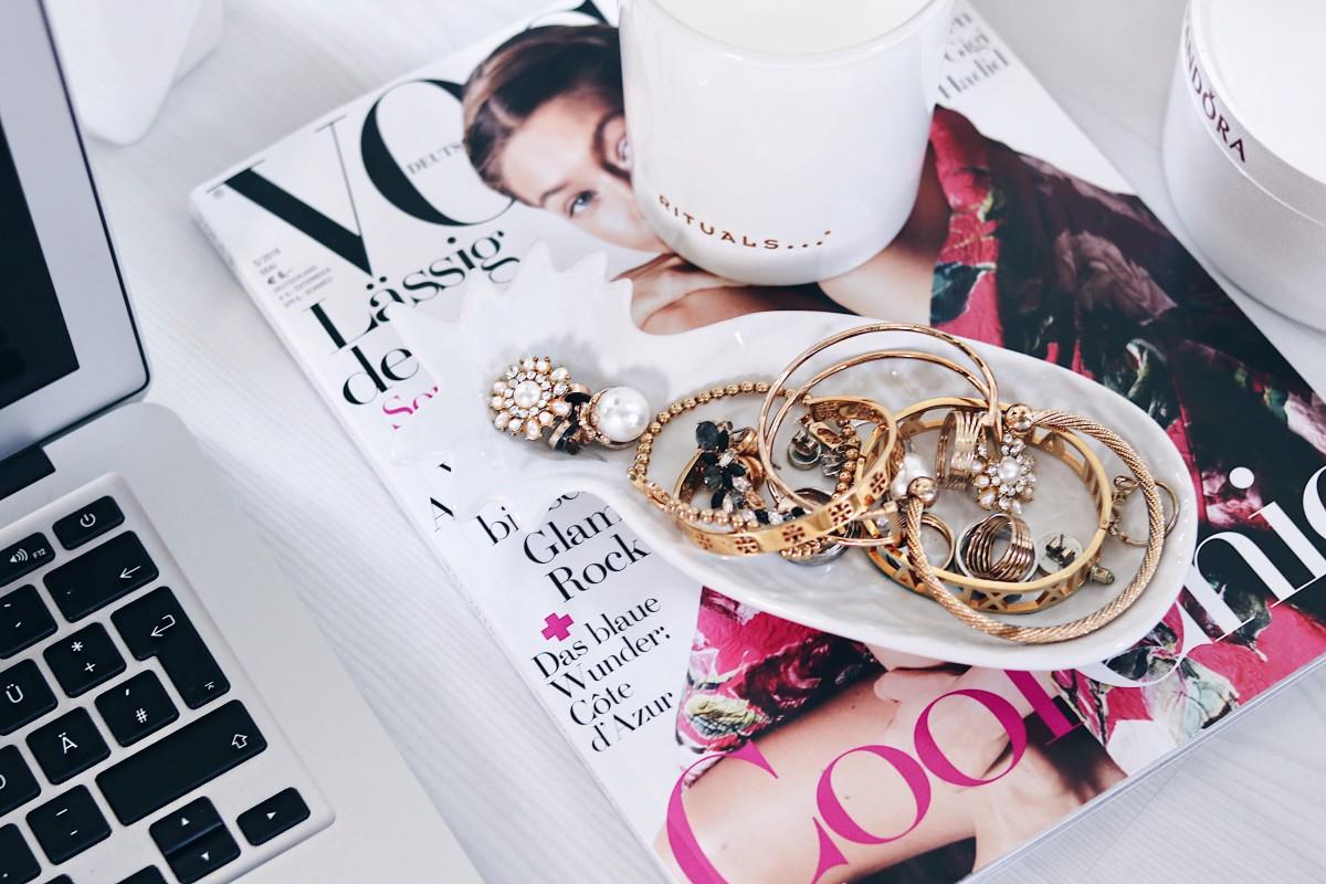 Blog, Blogger, Blogging, Vogue, Jewelry, Flatlay