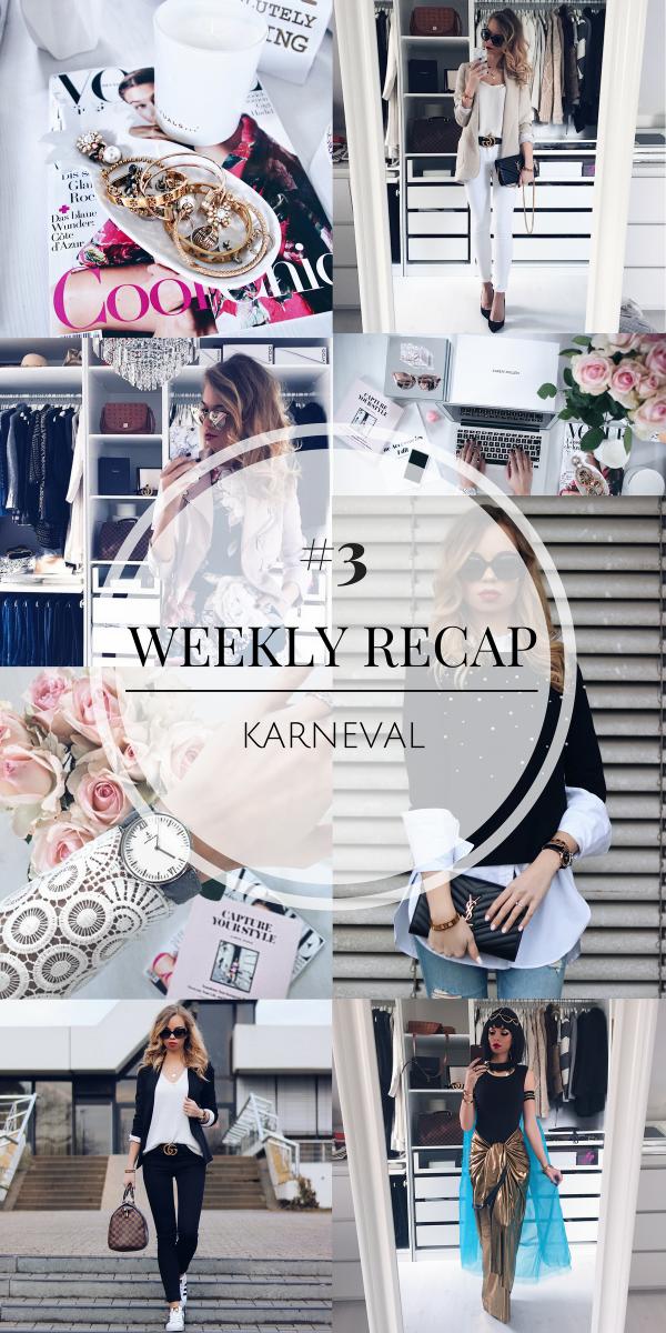 Weekly Recap #3 - Karneval