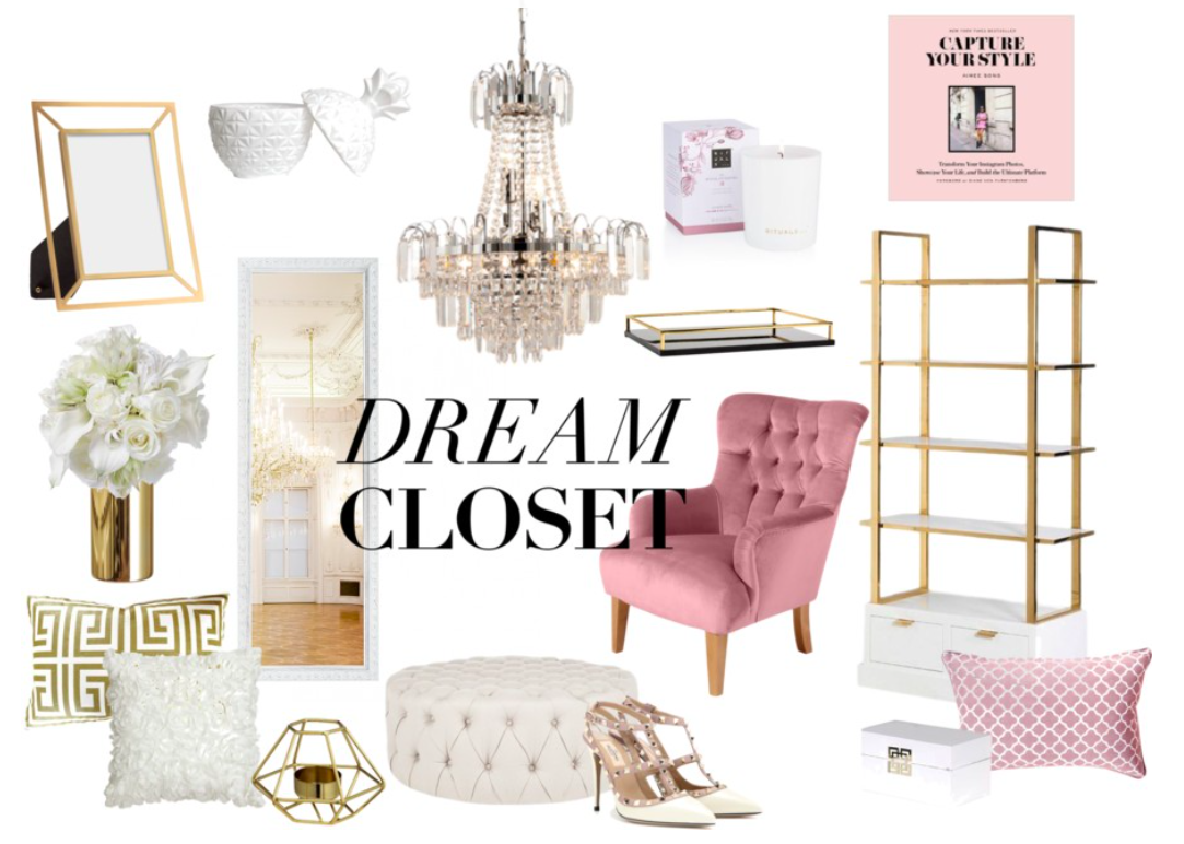 Walk in Closet, Hollywood Glam, Inspiration
