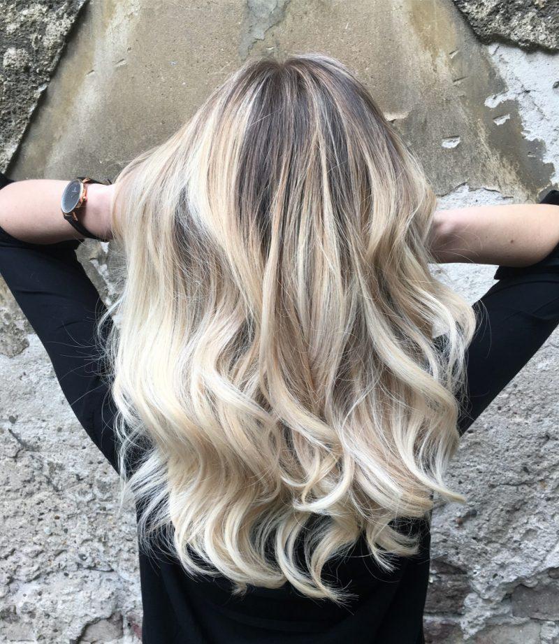 Hair, Balayage, Blond, Paintings