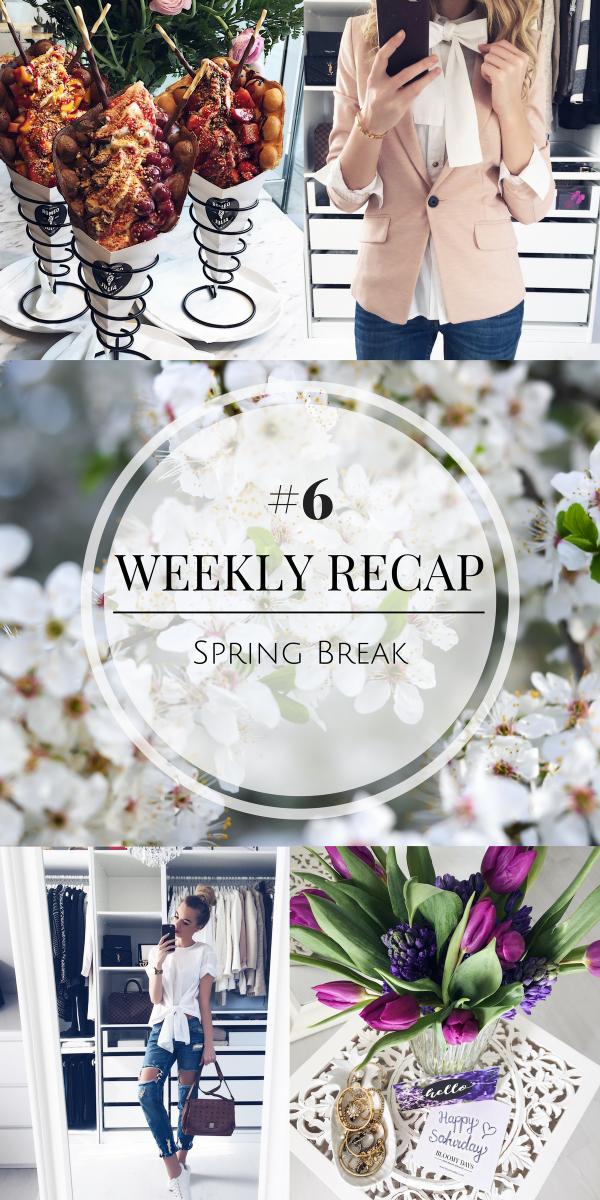 Weekly Recap, Wochenrückblick, Spring Break