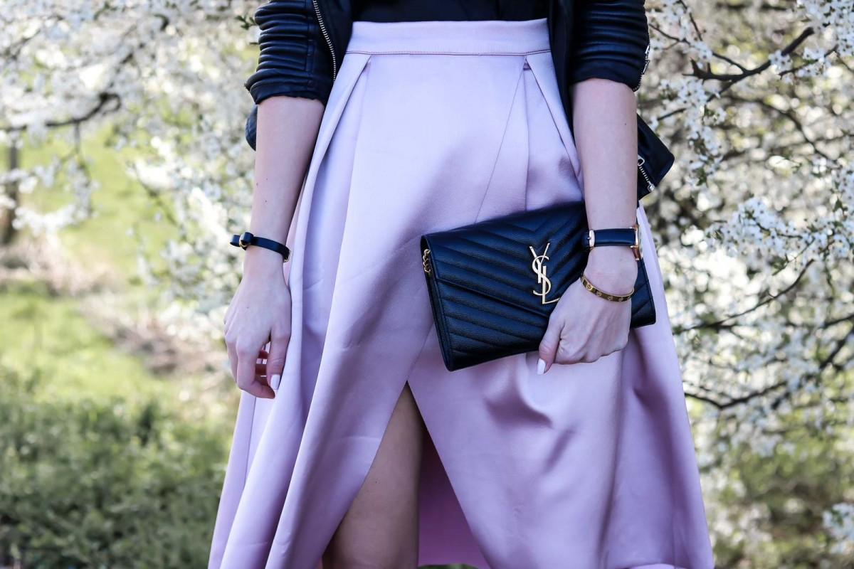 Outfit, Carrie, Skirt, Rock, Lederjacke, Leather Jacket, Spring