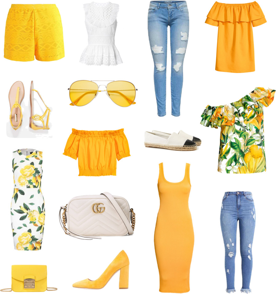 Trend color, yellow, Trendfarbe, gelb
