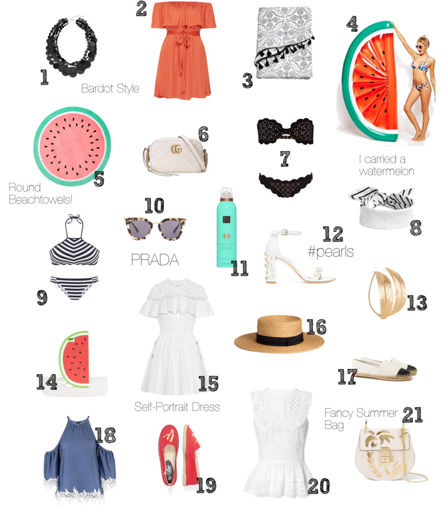 Summer Wishlist, Vacation, Must Haves, Summer, Style, Trends
